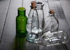 Un insieme di vetro Immagini Stock