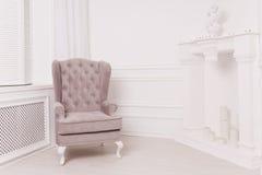 Un intérieur luxueux dans le style de vintage Images libres de droits