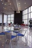 Un interior del café Foto de archivo libre de regalías