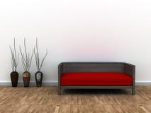 Interior design illustrazione di stock