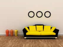 Interior design Fotografia Stock
