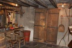 Un interiore di 1826 Fotografie Stock