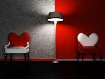 Un interiore romantico Immagine Stock Libera da Diritti