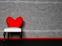 Un interiore romantico Fotografia Stock Libera da Diritti