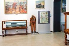 Un interno di uno dei corridoi del museo della marina in st Petersbur Fotografia Stock