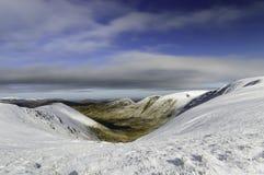 Un inverno della Regione dei laghi Fotografia Stock