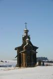 Un inverno russo Immagine Stock