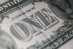 Un inverso del dollaro Immagini Stock Libere da Diritti