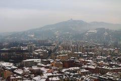 Un invierno en Turín Fotografía de archivo libre de regalías