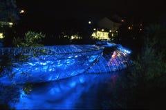 Un'isola artificiale a Graz Immagini Stock