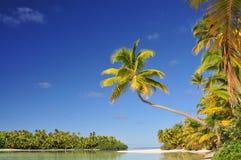 Un'isola del piede, cuoco Islands Fotografia Stock