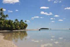 Un'isola del piede, cuoco Islands Fotografia Stock Libera da Diritti