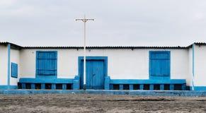 Un'istituzione di bagno sulla costa del Lazio Fotografie Stock