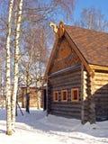Un izba russe image libre de droits