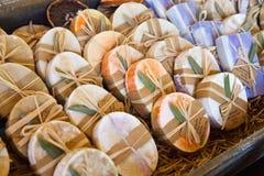 Un jabón natural hecho en casa Fotografía de archivo libre de regalías