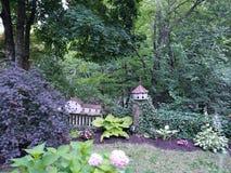 Un jardín del cuento de hadas foto de archivo