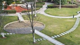 Un jardín grande y espacioso Imagen de archivo