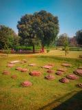 Un jardín hermoso imagenes de archivo