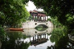 Un jardín hermoso con estilo tradicional Fotografía de archivo
