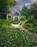 Un jardín secreto Imagen de archivo libre de regalías
