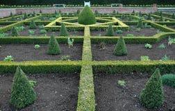 Un jardin anglais de noeud image stock