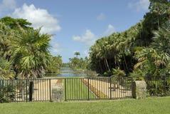 Un jardin de la Floride Image stock