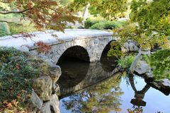 Un jardin japonais Images stock