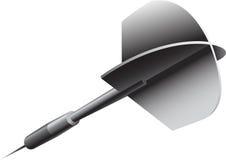 Un javelin d'argento (dardo) Immagini Stock