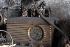 Un jazz antico di emissioni di radio Fotografia Stock