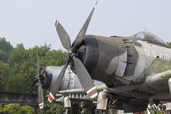Un jet de U Fuerza aérea de S que fue tirada abajo Imagen de archivo