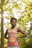 Un, jeune adulte, femme américaine d'africain noir 20-29 ans, main Photo stock