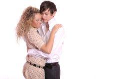 Un jeune couple Photo libre de droits