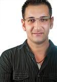 Un jeune homme confiant d'affaires Photographie stock libre de droits