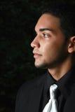 Un jeune mâle hispanique Image libre de droits
