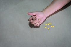 un jeune toxicomane photo libre de droits