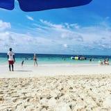 Un jour à la plage photo stock