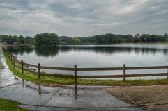 Un jour au lac Photographie stock