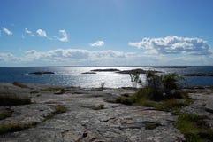 Un jour d'été dans l'archipel Photo stock