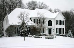 Un jour d'hiver images stock