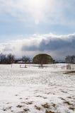 Un jour d'hiver au parc photos libres de droits