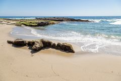 Un jour dans le Laguna Beach, la Californie photos libres de droits
