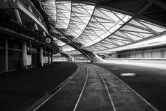 Un jour dans le stade de ressortissant de Singapour Photo libre de droits
