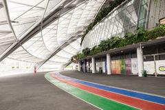 Un jour dans le stade de ressortissant de Singapour Photographie stock