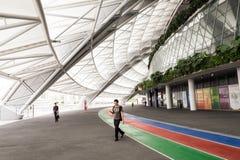 Un jour dans le stade de ressortissant de Singapour Photos libres de droits