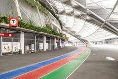Un jour dans le stade de ressortissant de Singapour Photographie stock libre de droits
