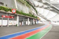 Un jour dans le stade de ressortissant de Singapour Photo stock
