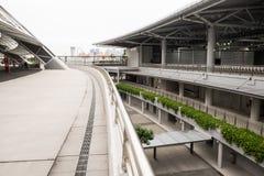 Un jour dans le stade de ressortissant de Singapour Image stock