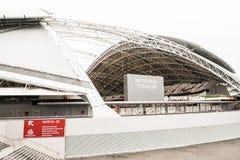 Un jour dans le stade de ressortissant de Singapour Photos stock