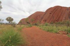 Un jour dans Uluru Photo libre de droits