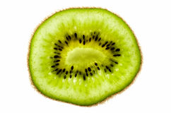 Fetta del kiwi Immagini Stock